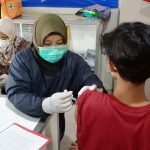Kegiatan Vaksin Bagi Siswa SMP Muhammadiyah 1 Surabaya