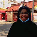 Maryam (SMP Muhammadiyah 1 Surabaya) Juara 1 Lomba Vlog The Invincible Memoars of Kembang Jepun