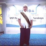Ammar Yusuf Siswa SMP Muhammadiyah 1 Surabaya Menjadi Pembaca Doa Pandu Digital